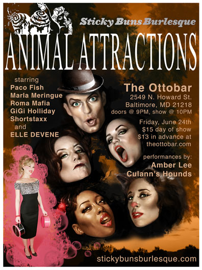 Animal Attractions poster