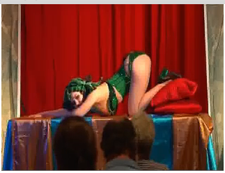 Modeling at Dr. Sketchy's